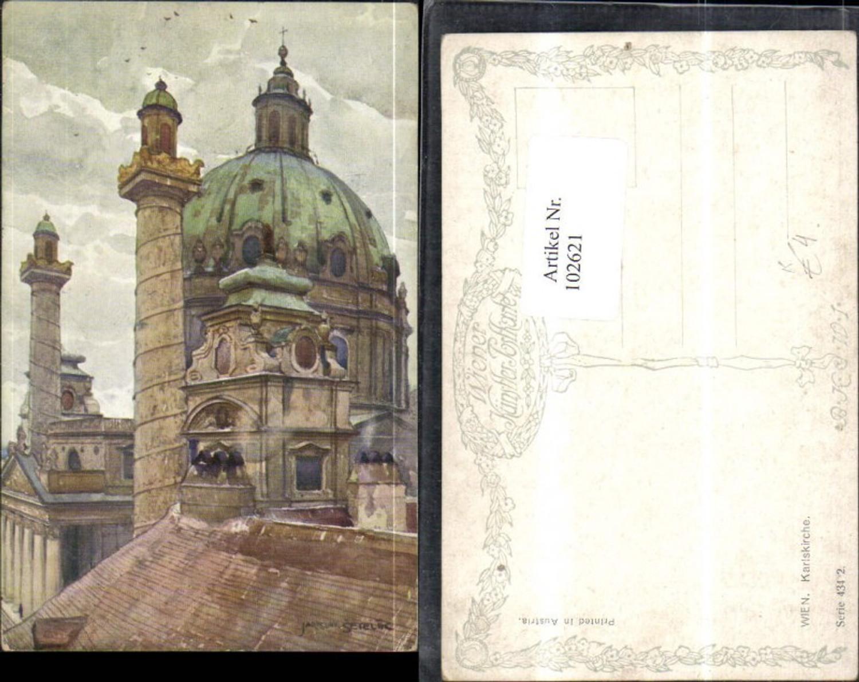 102621,Wien Wieden Karlskirche sign Setelik  günstig online kaufen