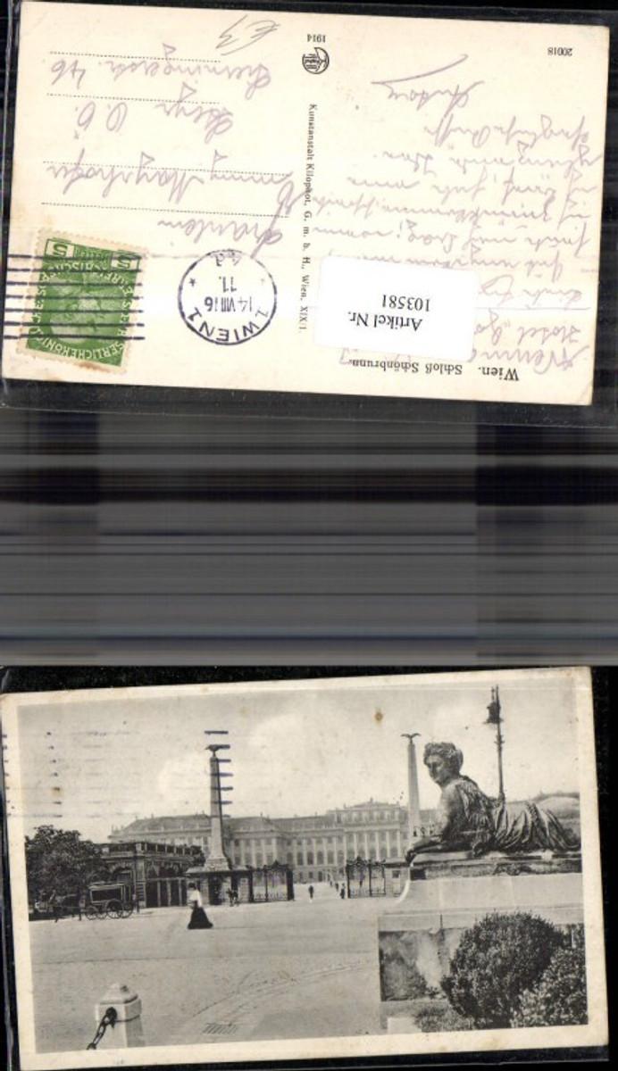 103581,Wien Hietzing Schloss Schönbrunn  günstig online kaufen