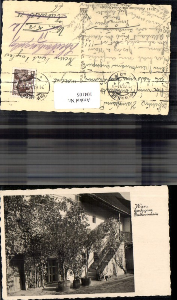 104105,Wien Döbling Eroikagasse Beethovenhain 1937 günstig online kaufen