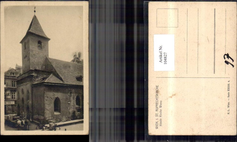 104827,Wien 1 St Ruprechtskirche älteste Kirche Wiens  günstig online kaufen