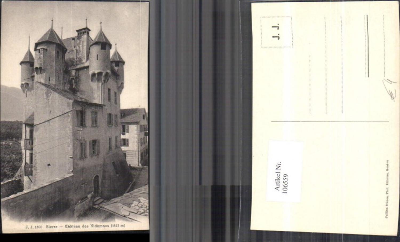 106559,Sierre Chateau des Vidomnes Kanton Wallis  günstig online kaufen