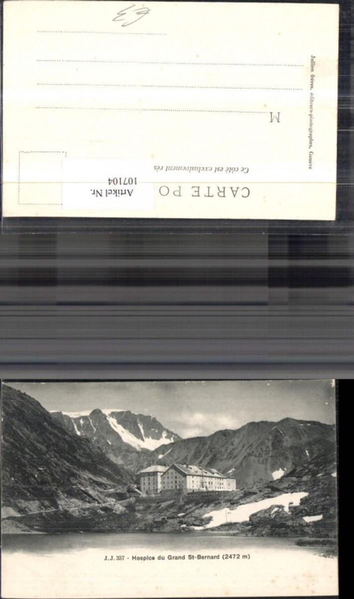 107104,Hospice du Grand St Bernard Ansicht Kanton Wallis günstig online kaufen