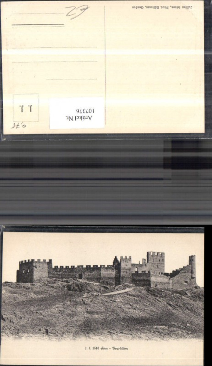 107376,Sion Tourbillon Festung Kanton Wallis günstig online kaufen