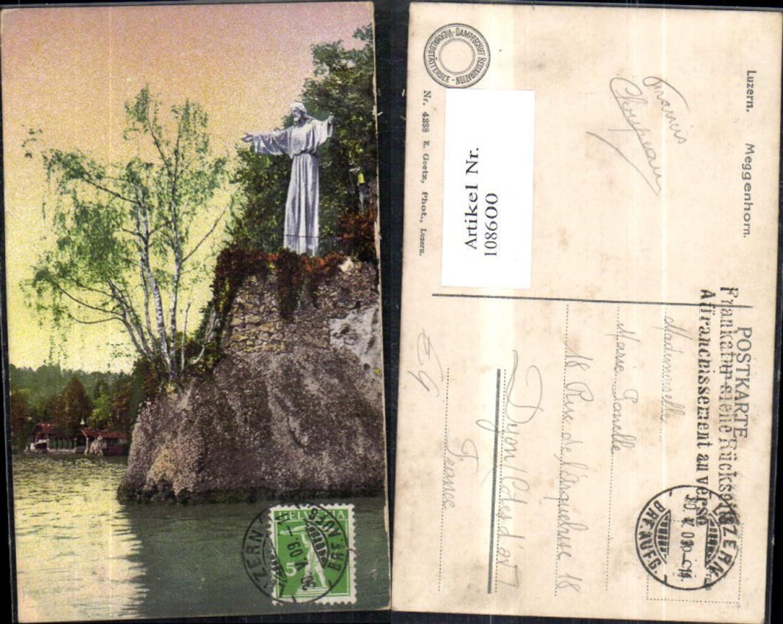108600,Luzern Meggenhorn Statue 1909 Kanton Luzern günstig online kaufen