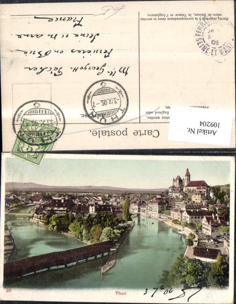109204,Thun Totale 1906 Kanton Bern günstig online kaufen