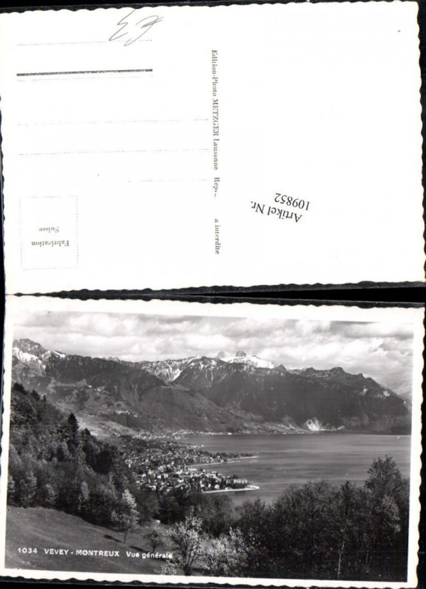 109852,Vevey Montreux vue generale Kt Waadt günstig online kaufen