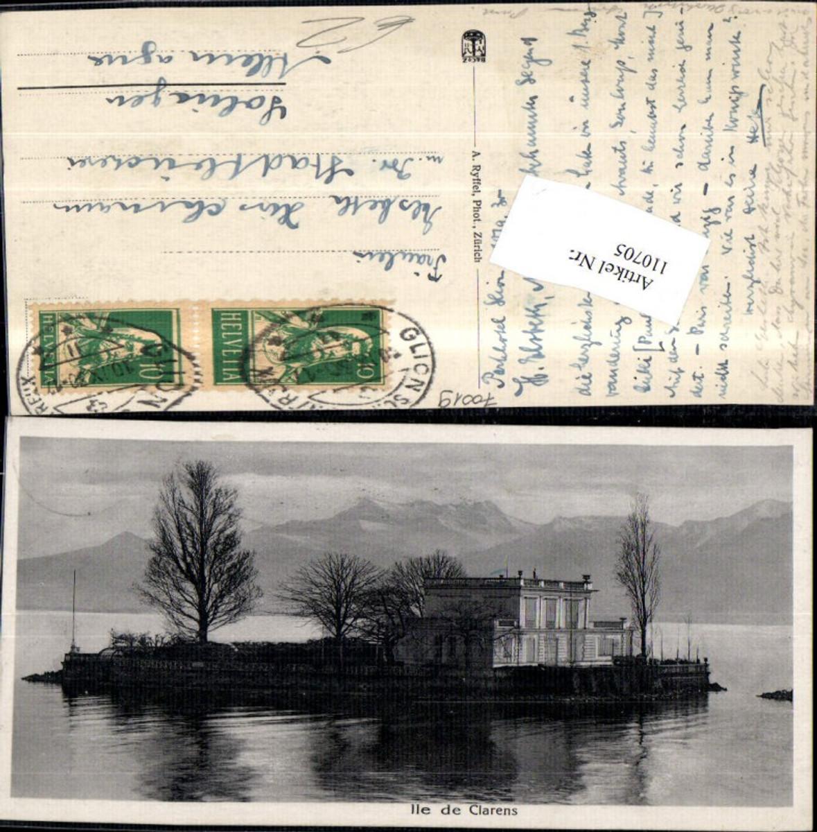 110705,Ile de Clarens 1930 Kanton Waadt günstig online kaufen