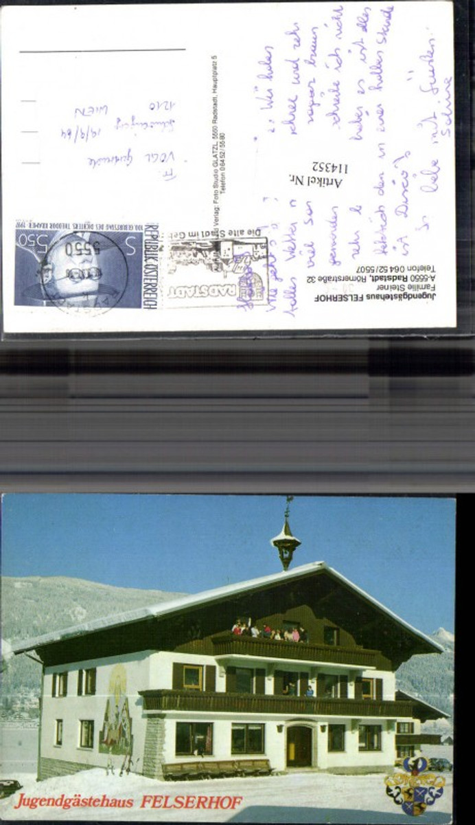 114352,Jugendgästehaus Felserhof Radstadt  günstig online kaufen