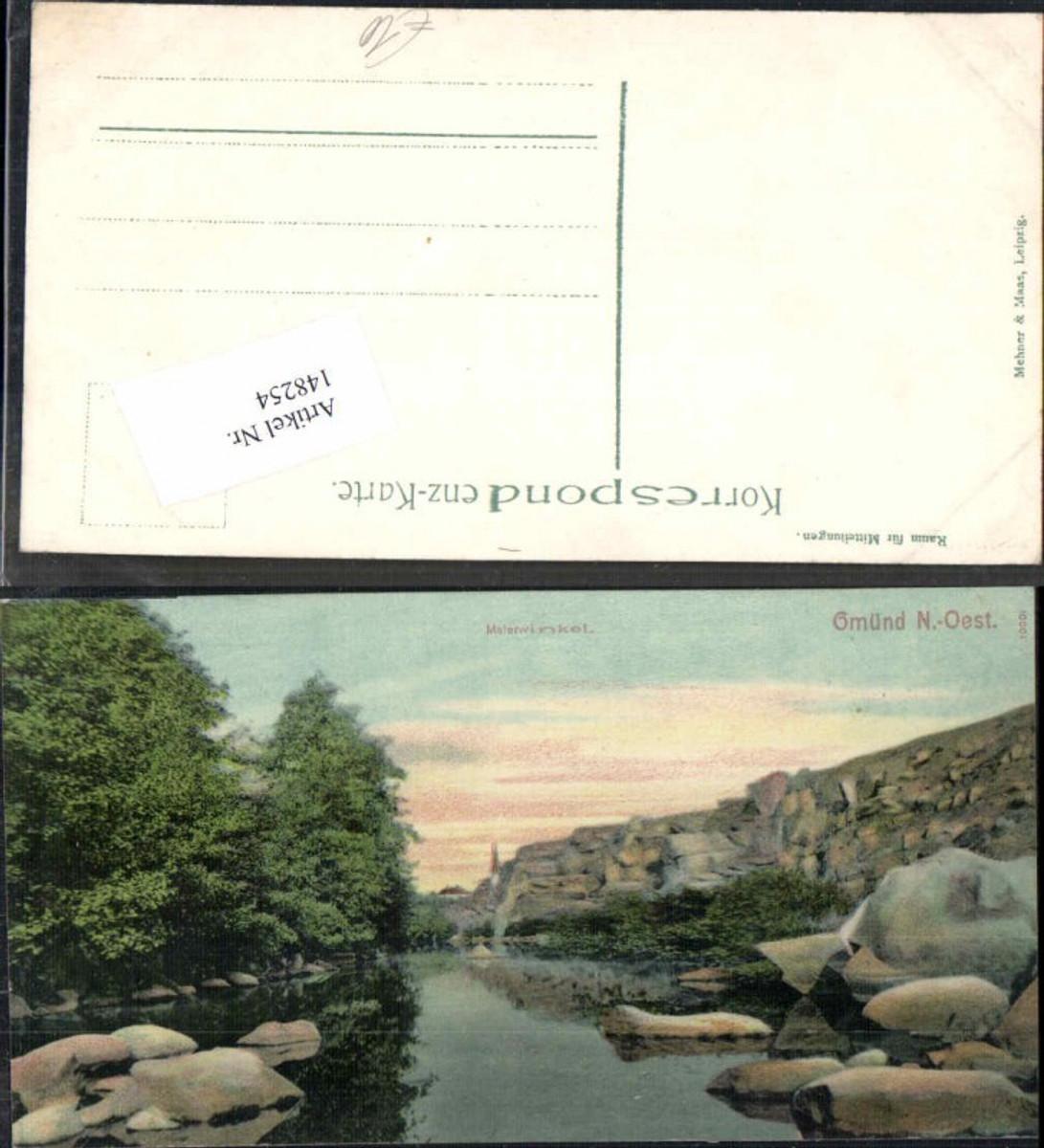 148254,Gmünd Malerwinkel 1905 günstig online kaufen