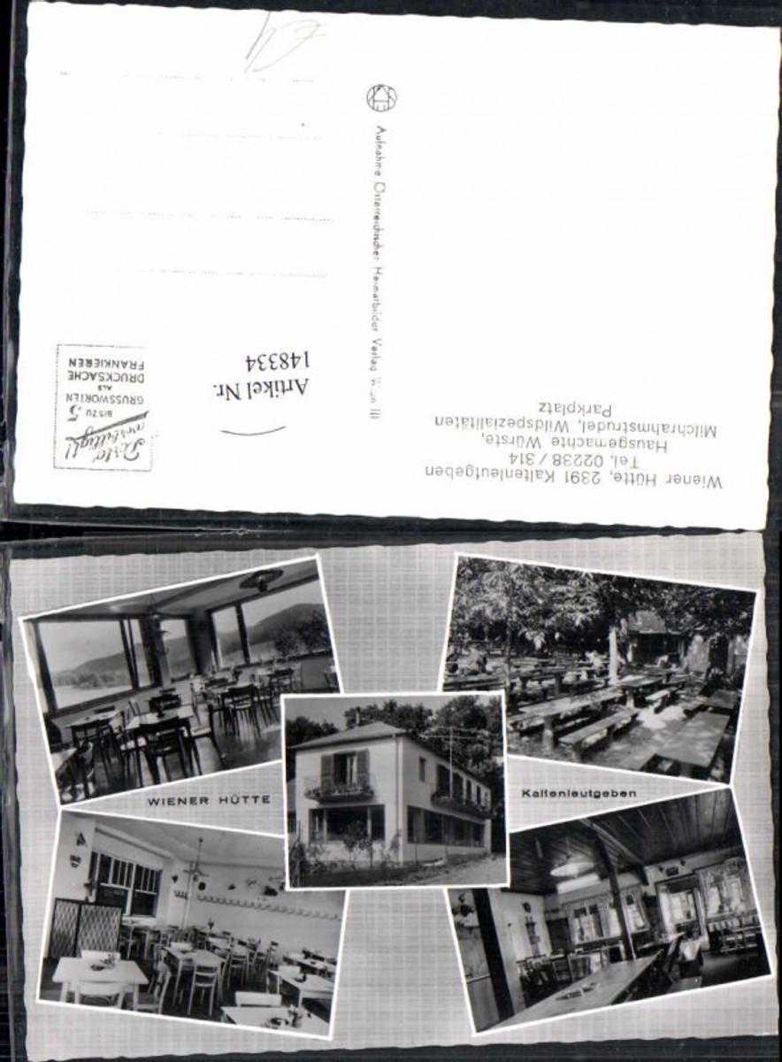 148334,Kaltenleutgeben Wiener Hütte  günstig online kaufen