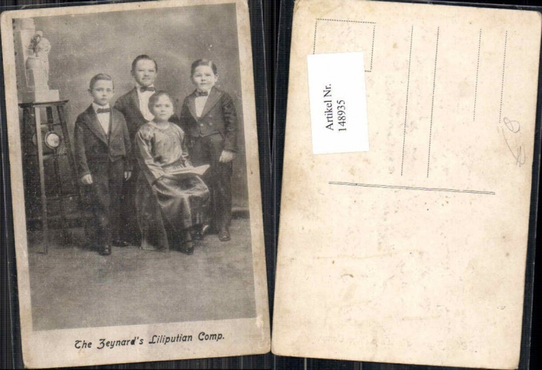 148935,The Zeynards Liliputian Corp. Liliputaner Zirkus Circus günstig online kaufen