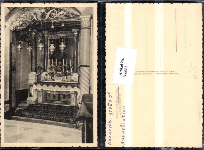 166681,Nazareth grotto of Annuntiation Galikäa Verkündigungsgrotte  günstig online kaufen