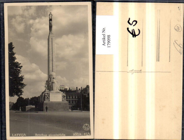 179098,Lettland Riga Latvija Brivibas piemineklis Säule günstig online kaufen