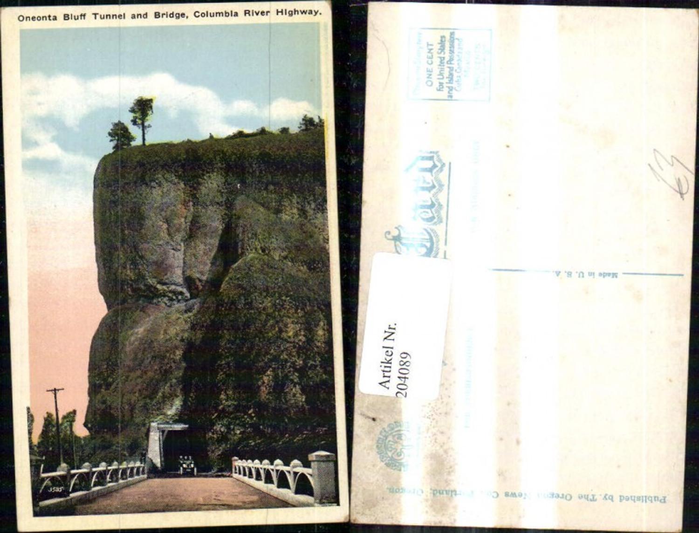 204089,Oregon Oneonta Bluffs Tunnel and Bridge on the Columbia River Highway Automobil  günstig online kaufen