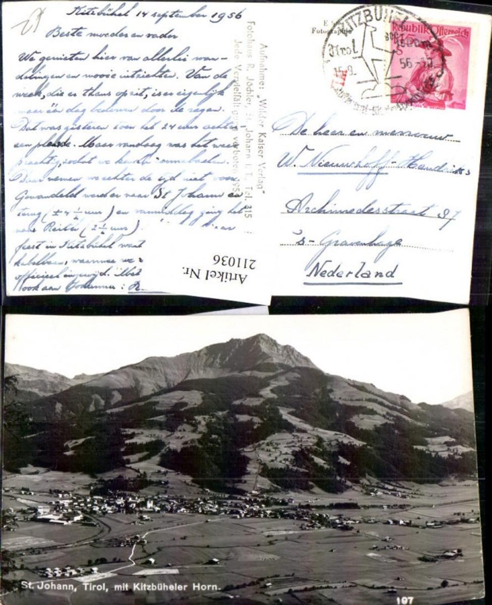 211036,St Johann i. Tirol m. Kitzbüheler Horn  günstig online kaufen
