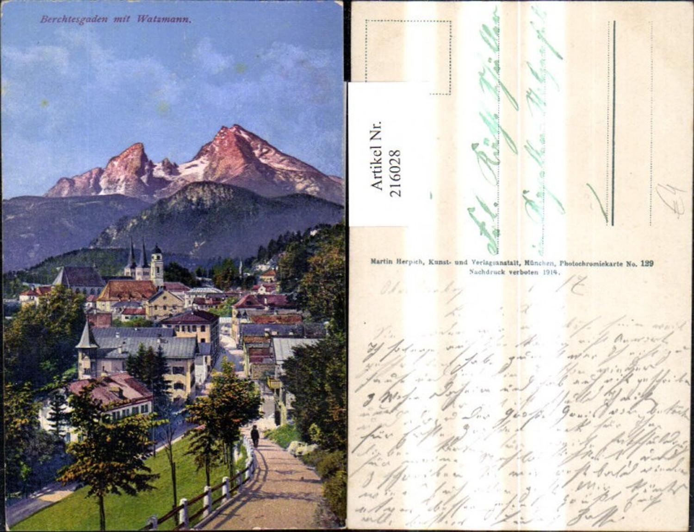 216028,Berchtesgaden m. Watzmann  günstig online kaufen