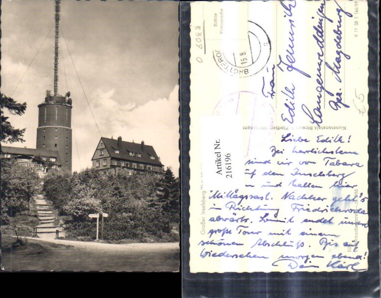 216196,Foto Ak Großer Inselsberg Thüringer Wald Inselberg günstig online kaufen
