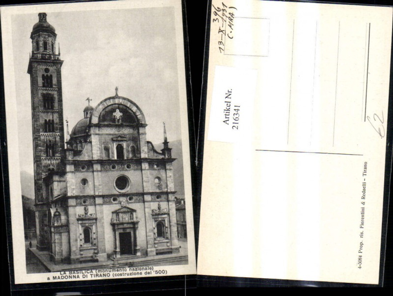 216341,Tirano La Basilica a Madonna di Tirano Basilika Kirche  günstig online kaufen