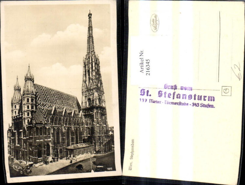 216345,Foto Ak Wien Stephansdom Dom  günstig online kaufen