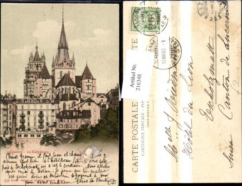 216348,Lausanne La Cathedrale  günstig online kaufen