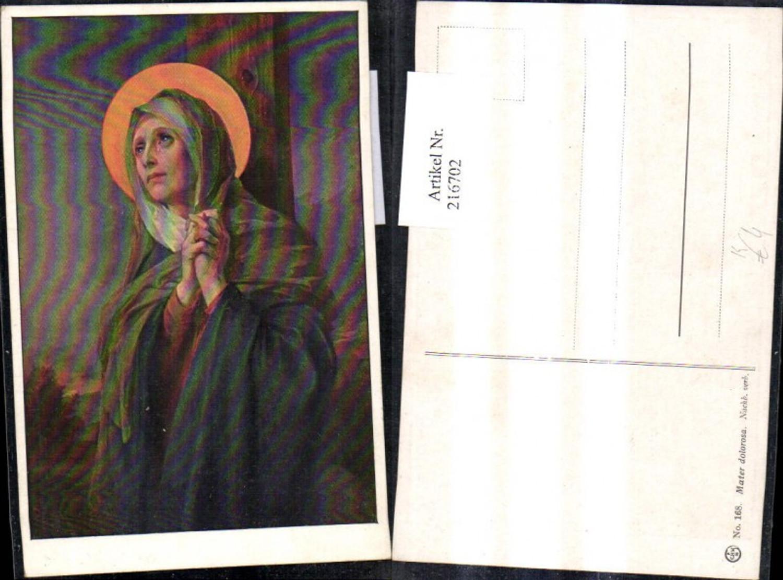 216702,Künstler Ak Mater Dolorosa Maria Betende Hände Heiligenschein Träne Religion günstig online kaufen