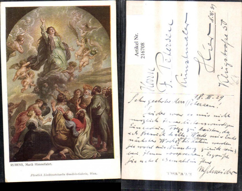 216708,Künstler Ak Peter Paul Rubens Mariä Maria Himmelfahrt Religion günstig online kaufen