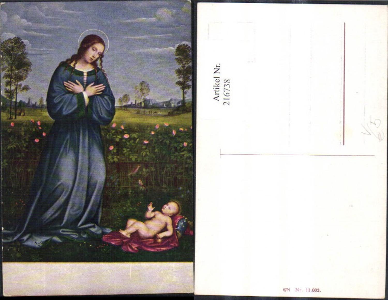 216738,Künstler Ak Heilige Kind Heiligenschein Religion pub KJM 11003 günstig online kaufen
