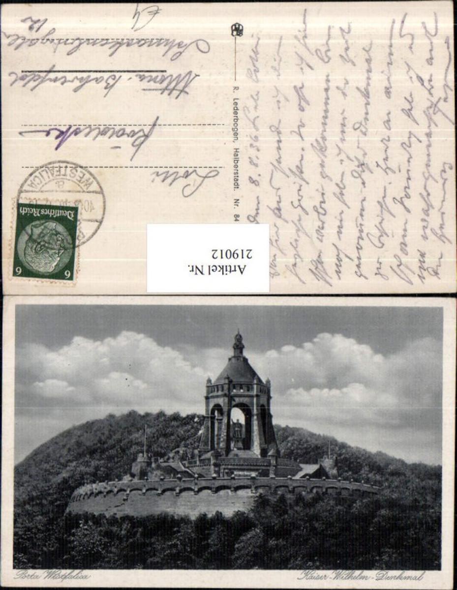 219012,Porta Westfalica Kaiser-Wilhelm-Denkmal günstig online kaufen