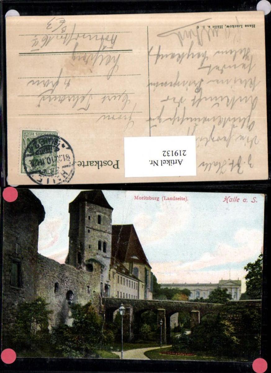219132,Halle a. d. Saale Moritzburg Burg Landseite günstig online kaufen