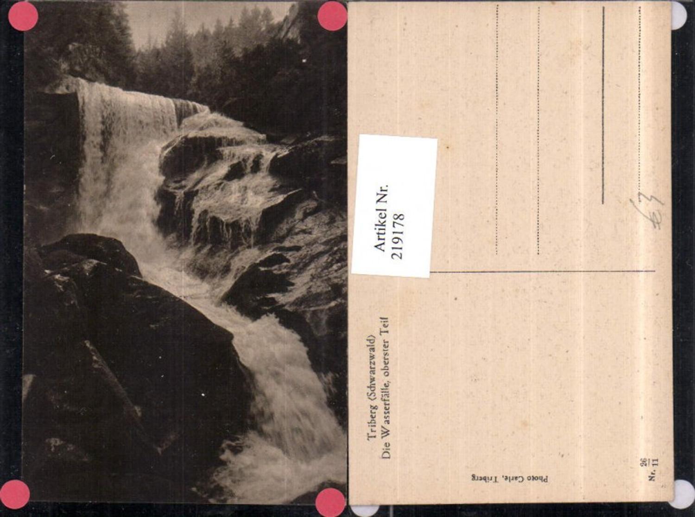 219178,Triberg im Schwarzwald Die Wasserfälle Wasserfall oberster Teil günstig online kaufen