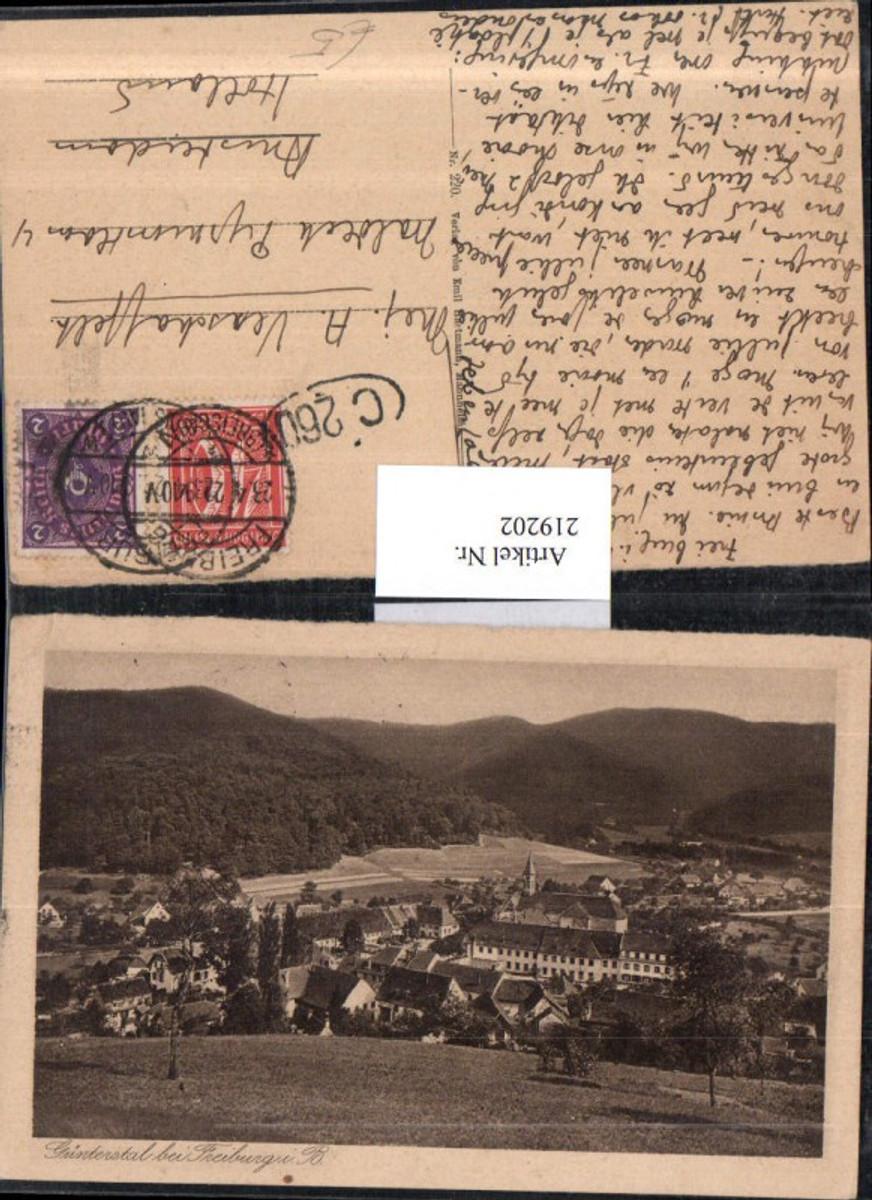 219202,Günterstal b. Freiburg im Breisgau Totale günstig online kaufen
