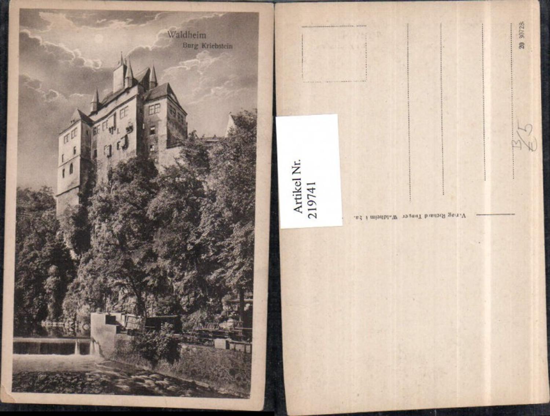 219741,Waldheim Burg Kriebstein günstig online kaufen