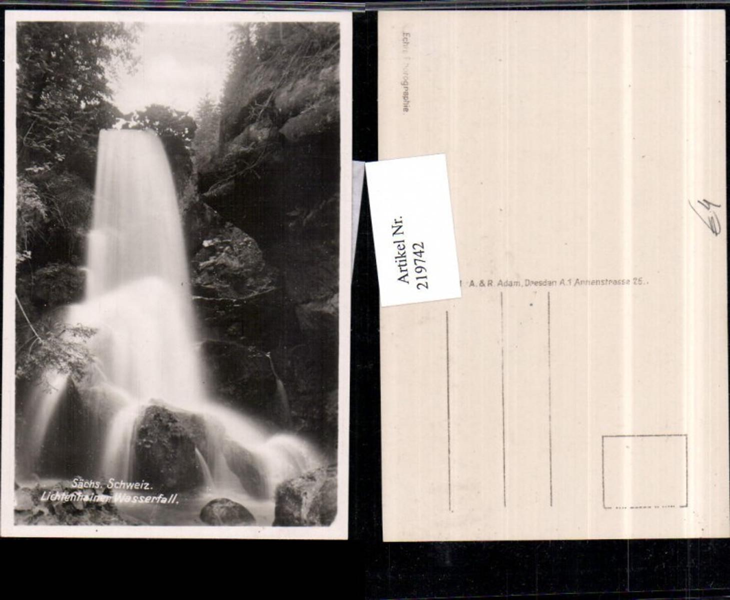 219742,Sächsische Schweiz Lichtenhainer Wasserfall günstig online kaufen