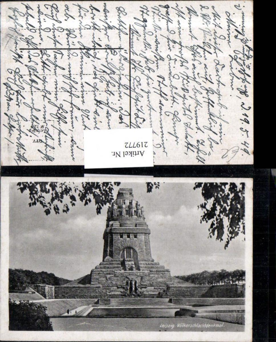 219772,Leipzig Völkerschlachtdenkmal Denkmal günstig online kaufen