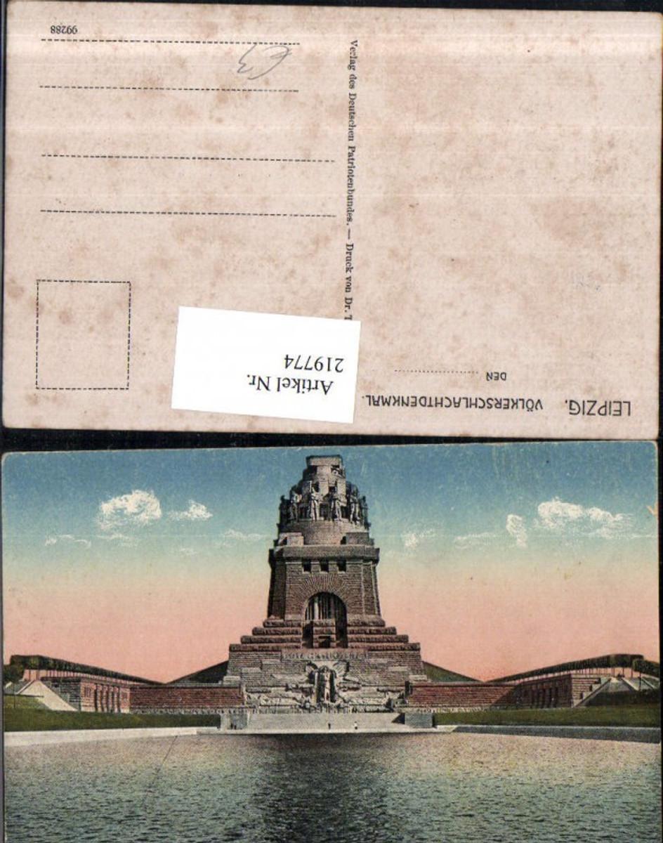 219774,Leipzig Völkerschlachtdenkmal Denkmal günstig online kaufen