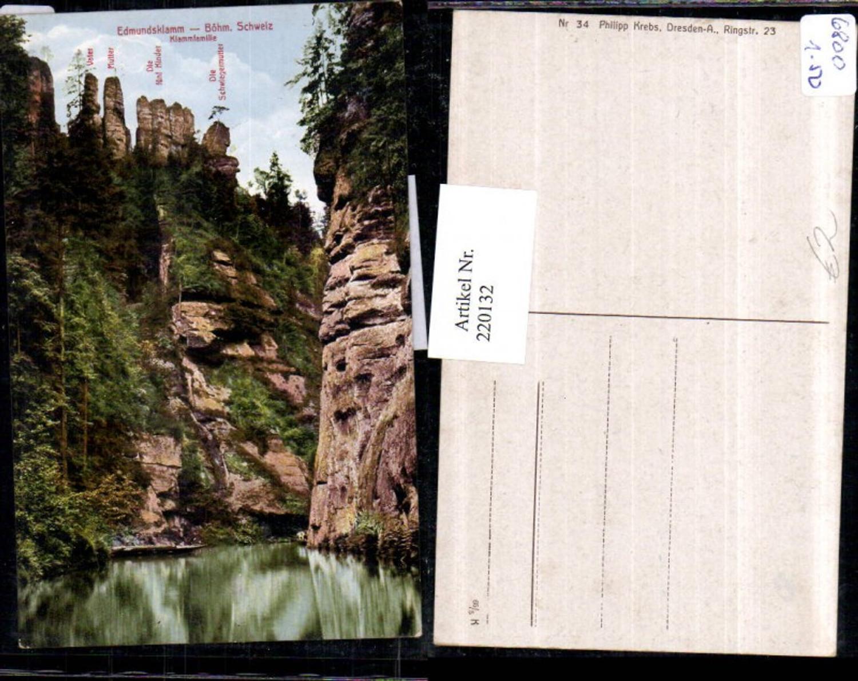 220132,Böhmische Schweiz Edmundsklamm Partie b. Herrnskretschen Hrensko günstig online kaufen