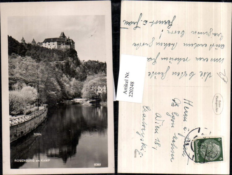 220248,Rosenburg am Kamp Schloss günstig online kaufen