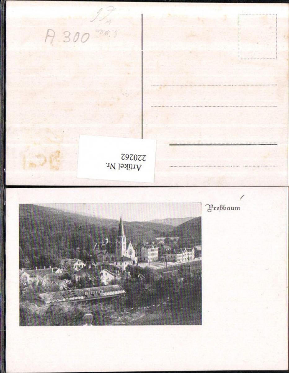 220262,Preßbaum Pressbaum b. Wien Teilansicht günstig online kaufen