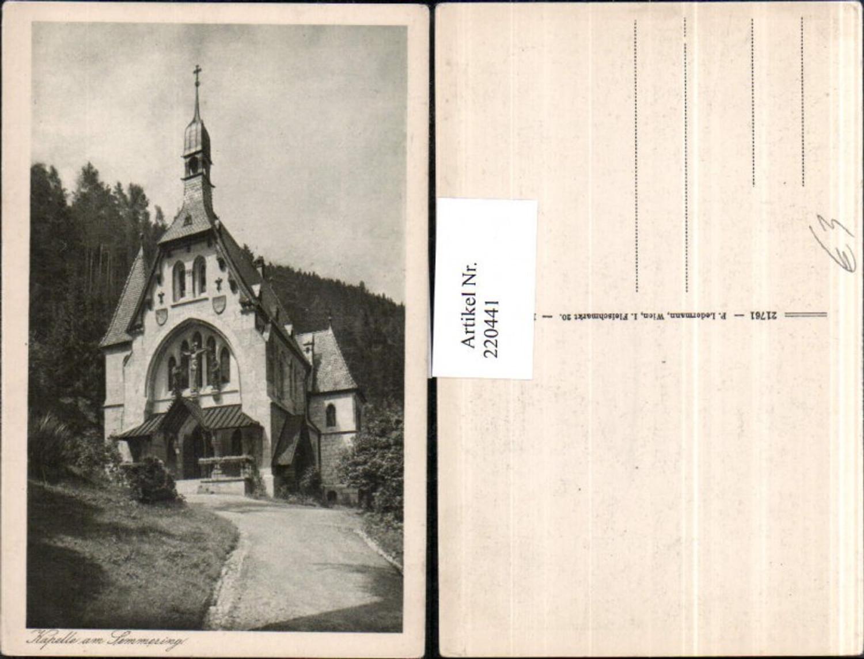 220441,Kapelle am Semmering günstig online kaufen