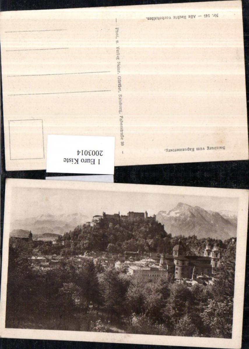 2003014,Salzburg Teilansicht v. Kapuzinerberg Festung günstig online kaufen