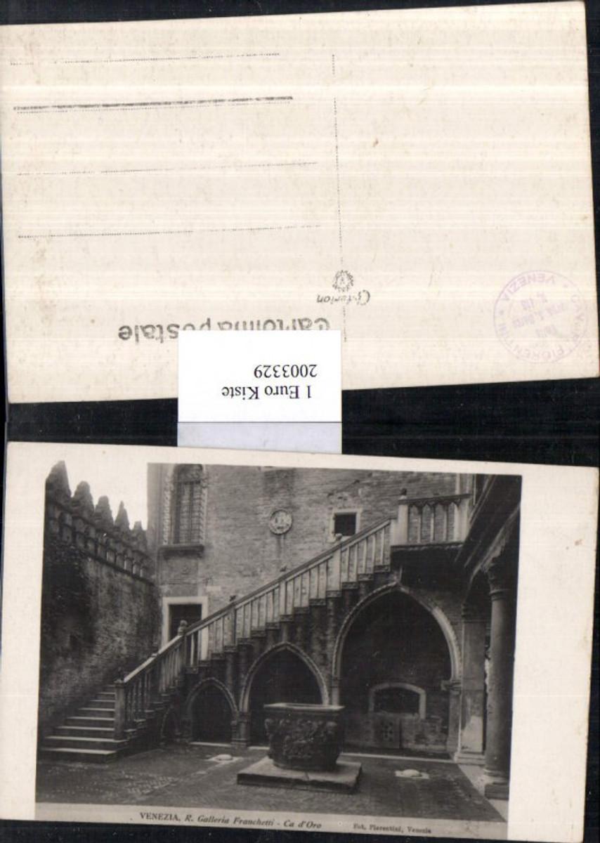 2003329,Venezia Venedig R. Galleria Franchetti Ca d'Oro Hausansicht Hof Brunnen günstig online kaufen