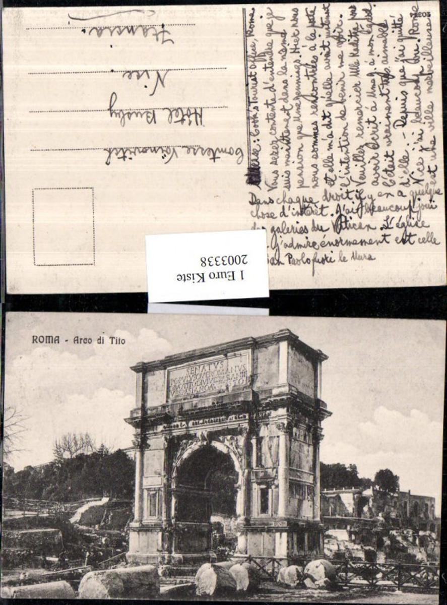 2003338,Roma Rom Arco di Tito Bogen günstig online kaufen