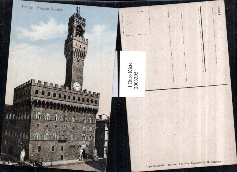 2003395,Firenze Florenz Palazzo Vecchio Gebäude Turm günstig online kaufen