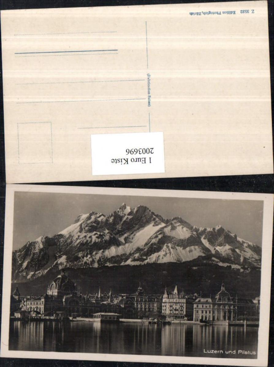 2003696,Luzern Teilansicht m. Bahnhof u. Pilatus günstig online kaufen