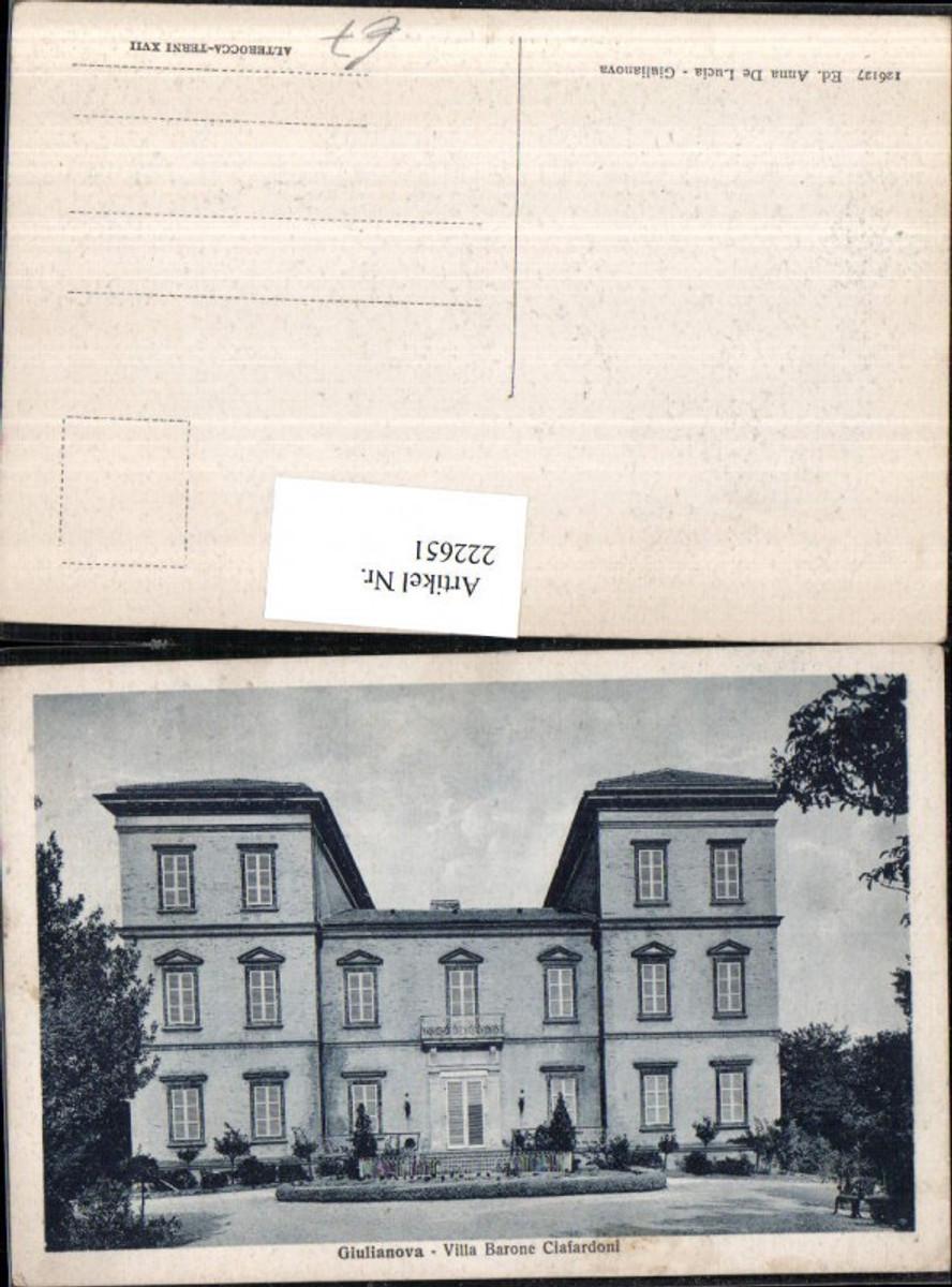 222651,Abruzzo Giulianova Villa Barone Ciafardoni günstig online kaufen