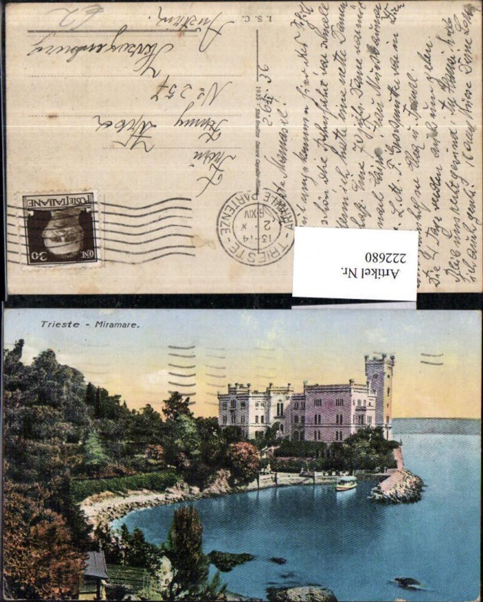 222680,Friuli-Venezia-Giulia Trieste Triest Miramare Schloss günstig online kaufen