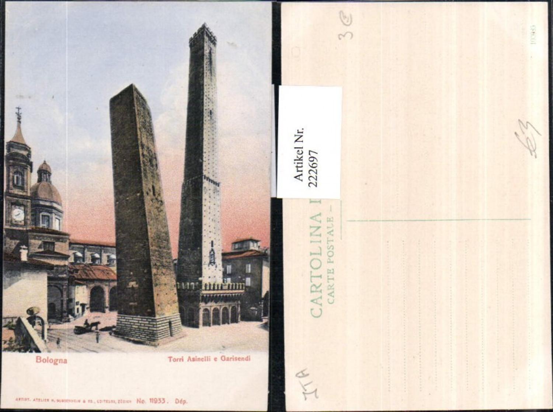 222697,Emilia-Romagna Bologna Torri Asinelli e Garisendi Turm Schiefer Turm günstig online kaufen