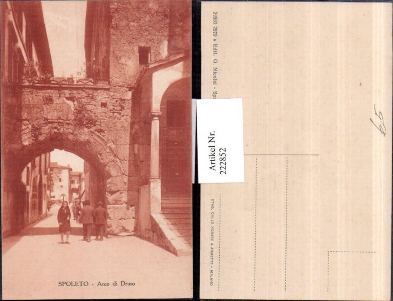 222852,Umbira Spoleto Arco di Druso Bogen günstig online kaufen