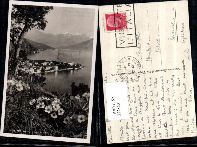 222860,Lombardia Lago di Como Menaggio Teilansicht günstig online kaufen