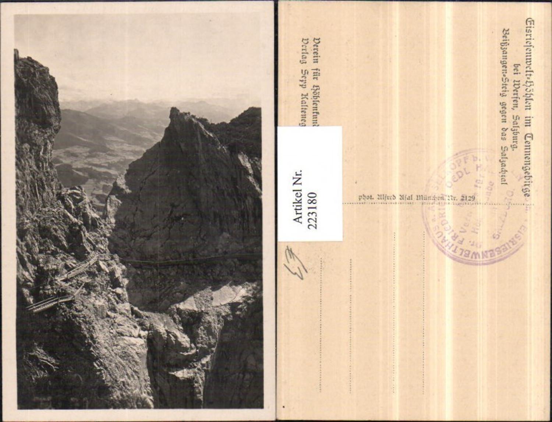 223180,Eisriesenwelt Höhlen im Tennengebirge b. Werfen Beißzangen-Steig geg. d. Salzachtal günstig online kaufen